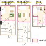 【図解】8畳の広さはこんな感じ(平米数・レイアウト例付き)