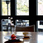 日本庭園を優雅にながめる大人のお花見 ― 白金台・八芳園「Thrush Café(スラッシュカフェ)」