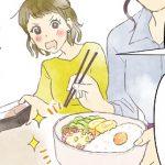 4コママンガ 一人暮らしのご飯事情① お弁当作りに役立つ自炊テクニックとは?