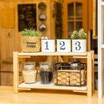 【簡単ハンドメイド】プチプラアイテムでDIY! グルーガンで作る木製スパイスラック